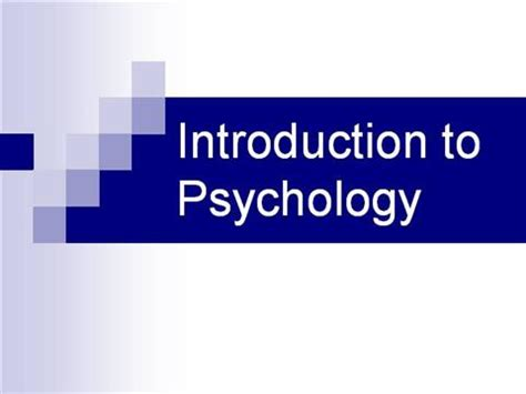 Introduction to psychology essay topics